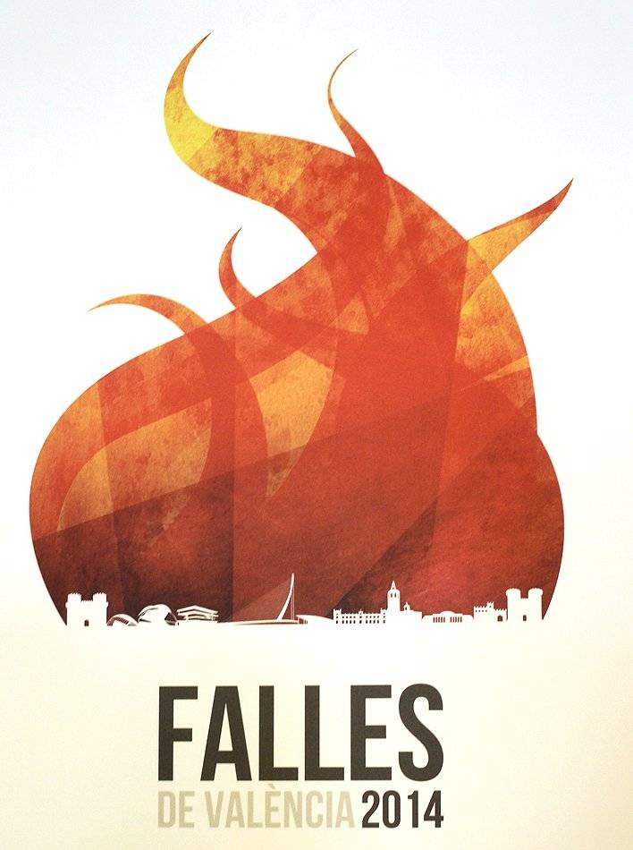 Viaje a las Fallas cartel