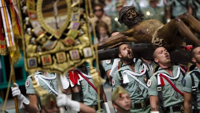 Cinco procesiones de Semana Santa en España 2