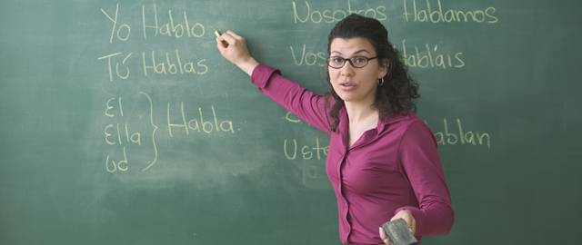 profesor español