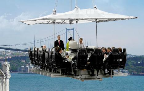 Los 5 restaurantes más raros del mundo 2