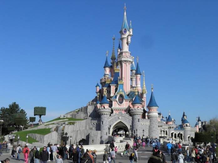 Euro Disney en Paris. Abril 2013