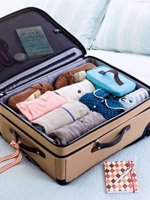 organizar la maleta