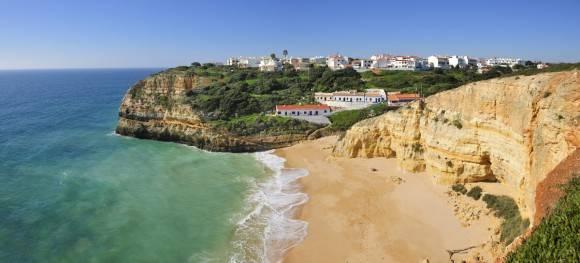 Un día de playa en Portugal