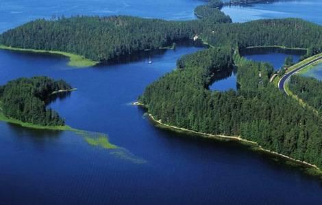 La región de los lagos en Finlandia 2