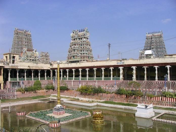 Paseo por el templo Meenakshi Amman en Madurai 2