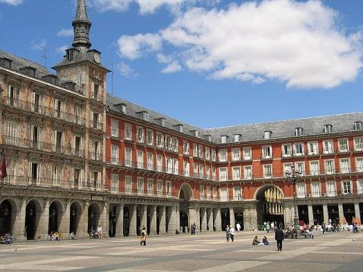 Plaza Mayor en Madrid 2