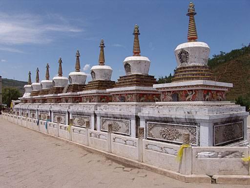 Ta'er, Wofo y Hanging, templos budistas imperdibles 2