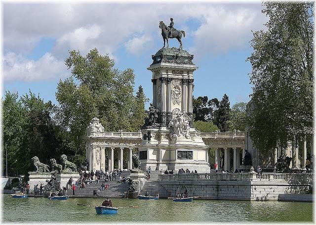 El parque del Retiro en Madrid 2