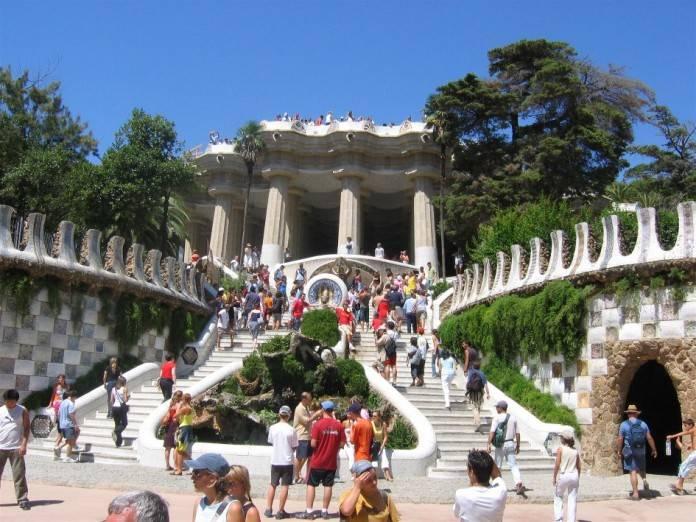 Obras de Gaudi, el Parque Güell 2