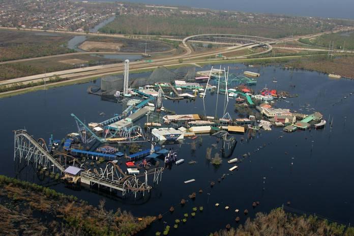 Destinos de terror, el parque abandonado Six Flags en Nueva Orleans 2