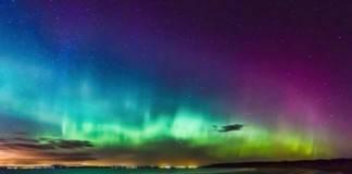 aurora boreal en Edimburgo