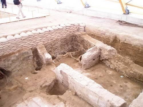 Ruinas antiguas en Catalhöyuk 2