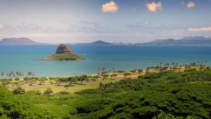 Ruinas antiguas de Oahu en Hawái 2