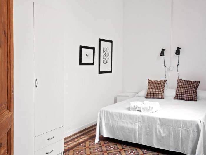 habitación apartamento barcelona