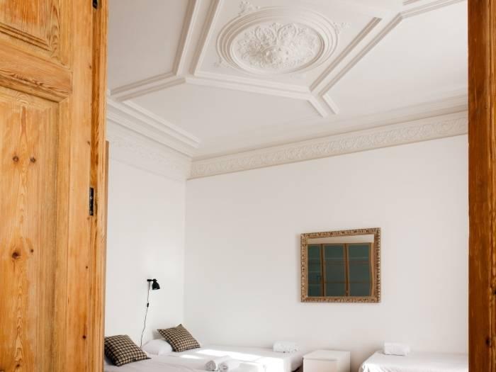 habitación apartamento de lujo en barcelona