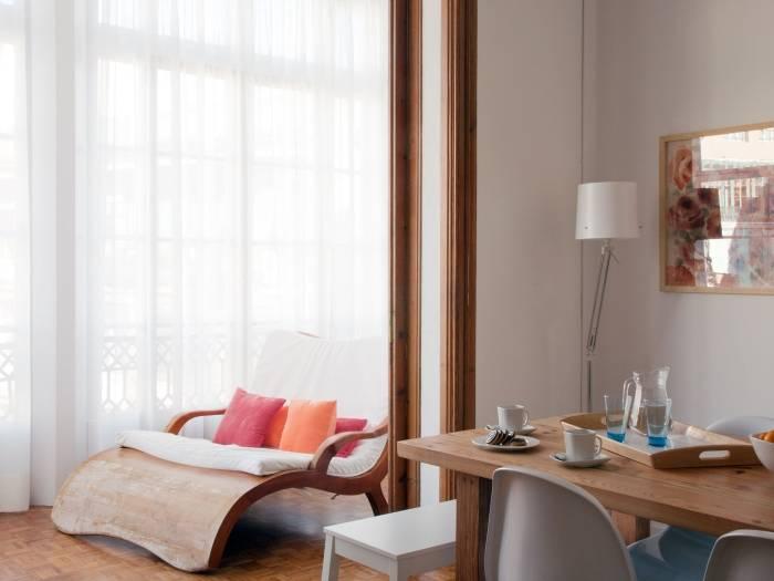 salon apartamento en barcelona