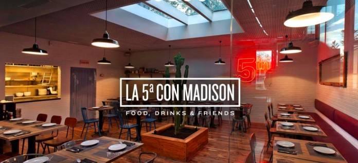 La 5ª con Madison. Food, Drinks & Friends en Madrid 4