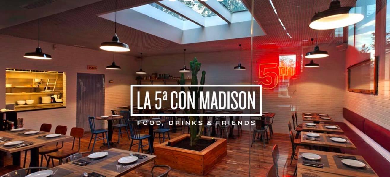 Captura de la web de La 5ª con Madison