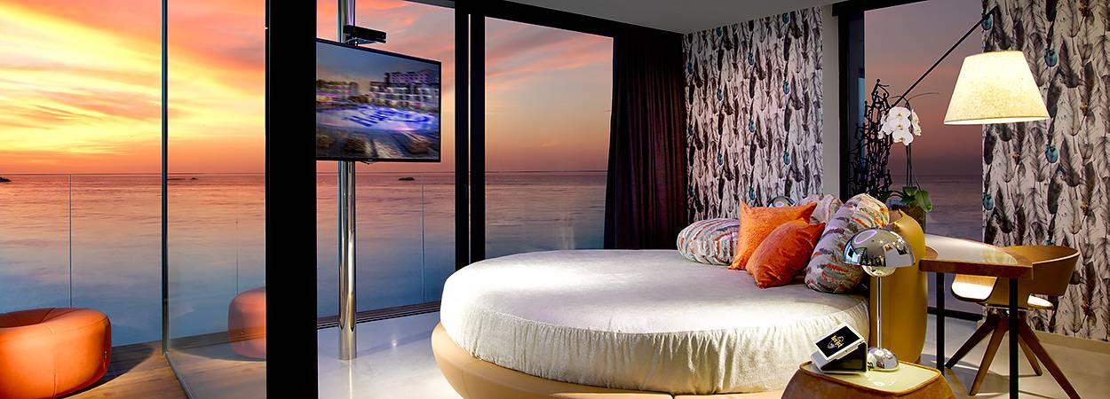 hoteles en Ibiza como el Hard Rock