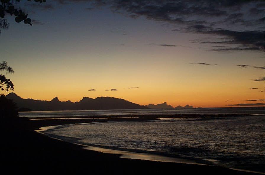 Moorea, una de las islas paradisíacas de nuestro planeta