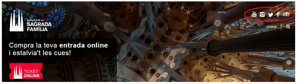 Visitar la Sagrada Familia una obra de Gaudi