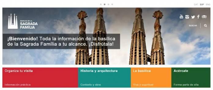 Visitar la Sagrada Familia en Barcelona