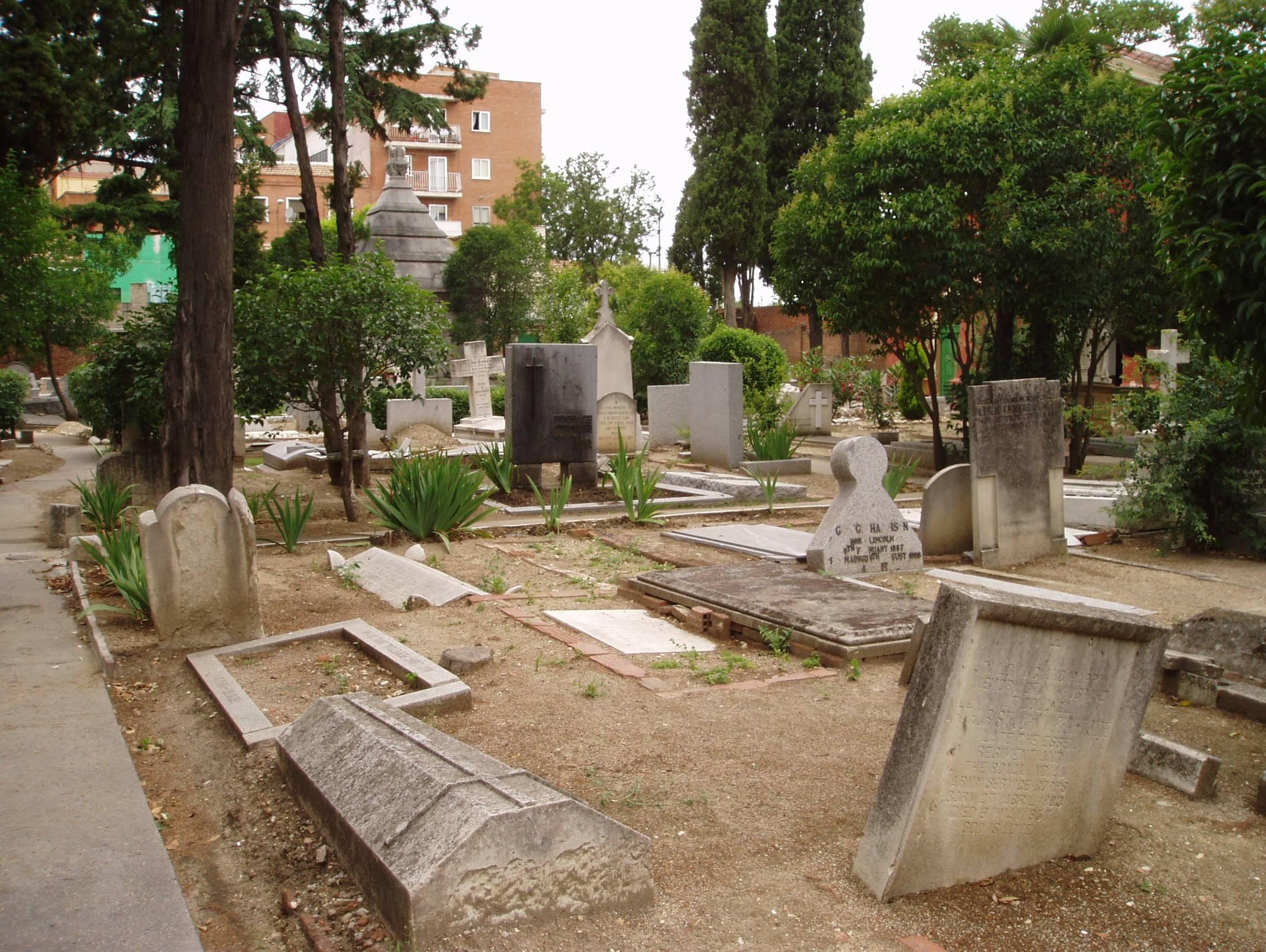 10 lugares desconocidos de Madrid - Cementerio de los ingleses