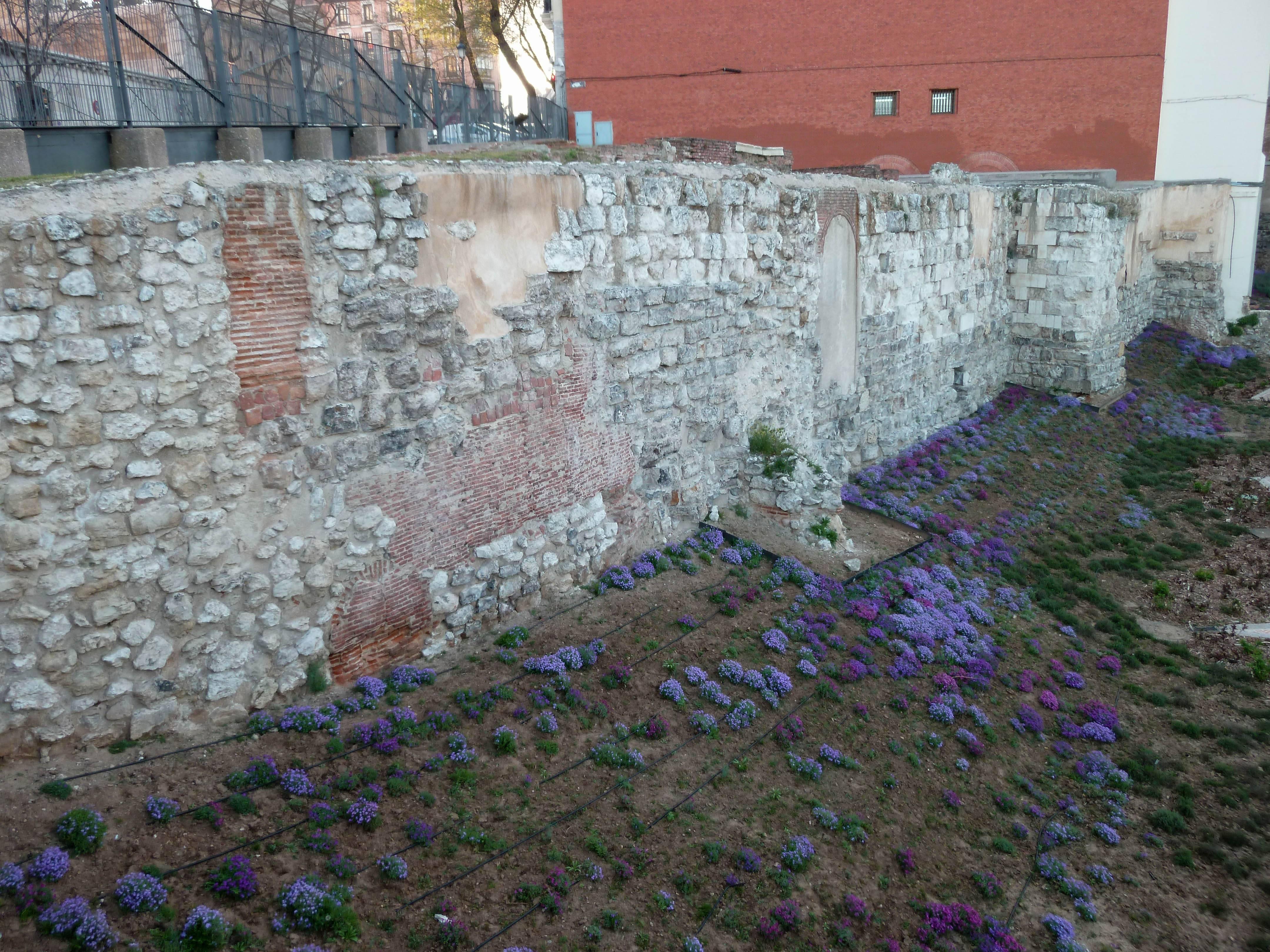 10 lugares desconocidos de Madrid - Muralla árabe