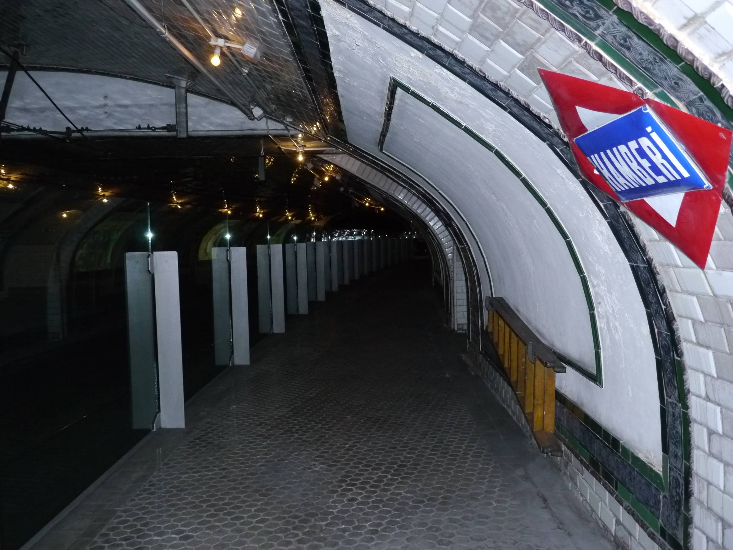 10 lugares desconocidos de Madrid - Estación abandonada de Chamberí