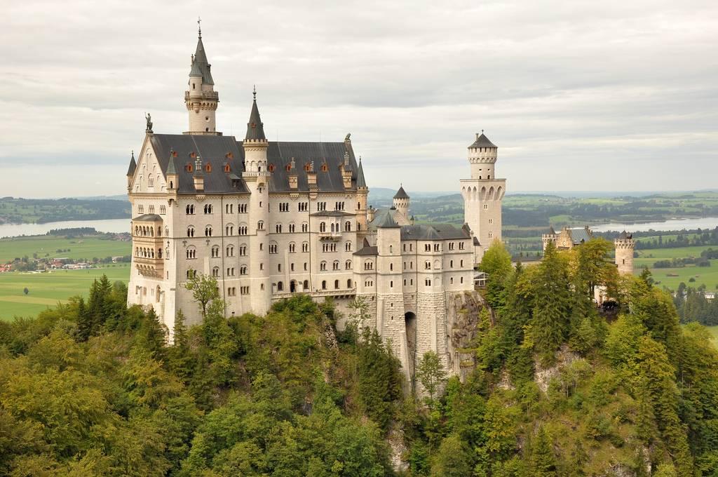 Los 4 castillos más bellos del mundo - Castillo de Neuschwanstein