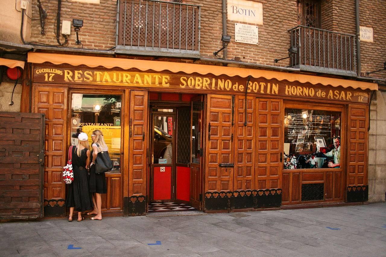 Lugares desconocidos de Madrid - Bar Botín