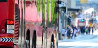 viaje largo en autobús