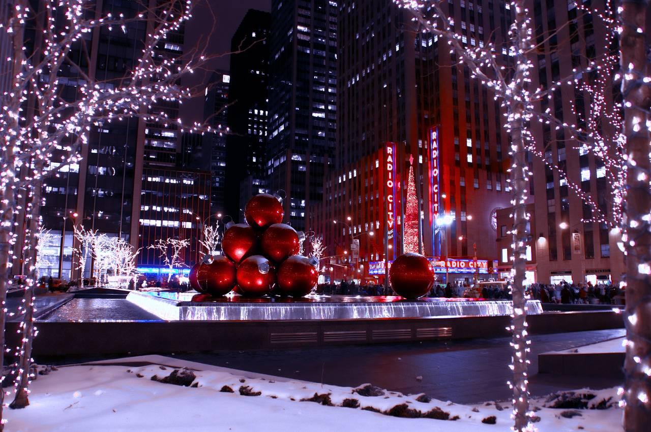 Ciudades mágicas en Navidad