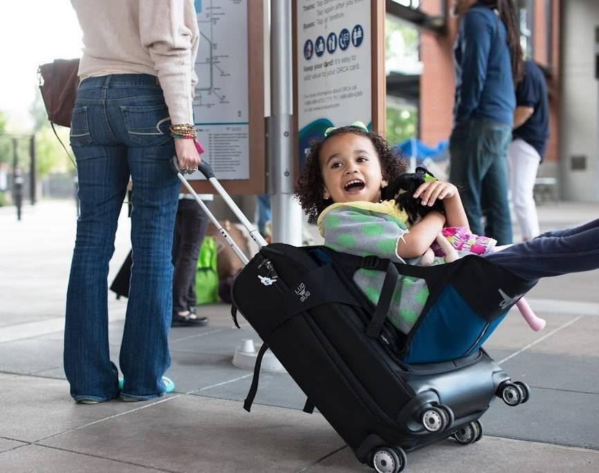 Lugabug Child Travel Chair - maleta para ninos