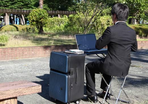 maletas de viaje más originales - maleta para hombres de negocios copia