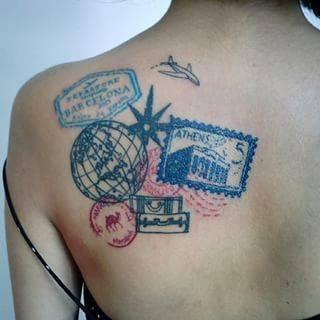 tatuajes de viajes