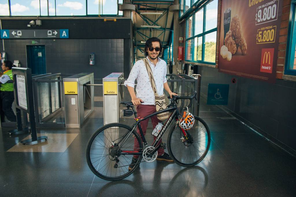 bicicleta en transportes públicos: metro