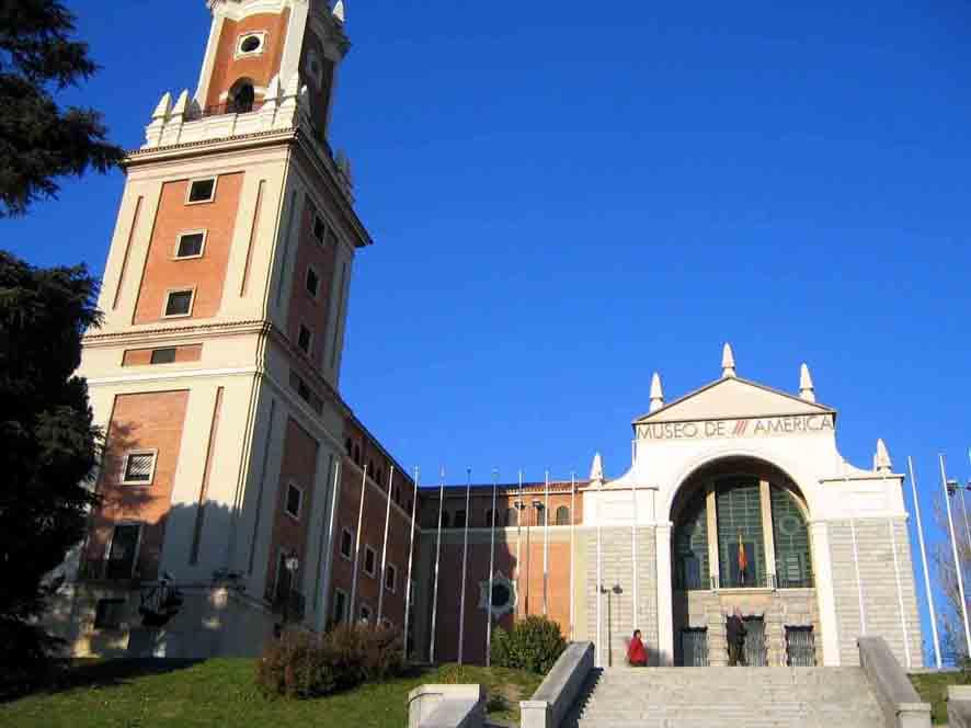museos de madrid: america