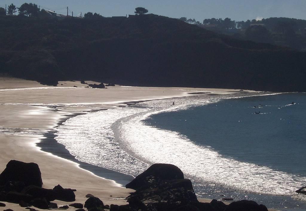 visitar La Gurdia: playa camposanto