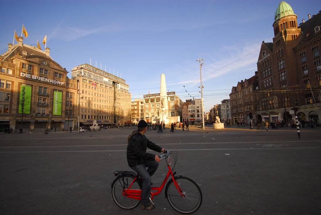 visitar amsterdam: plaza dam