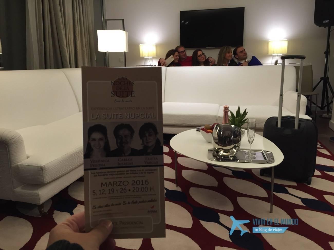 Programa de las noches de la suite - teatro