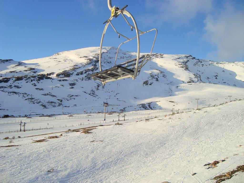 estaciones invernales de España: alto campoo