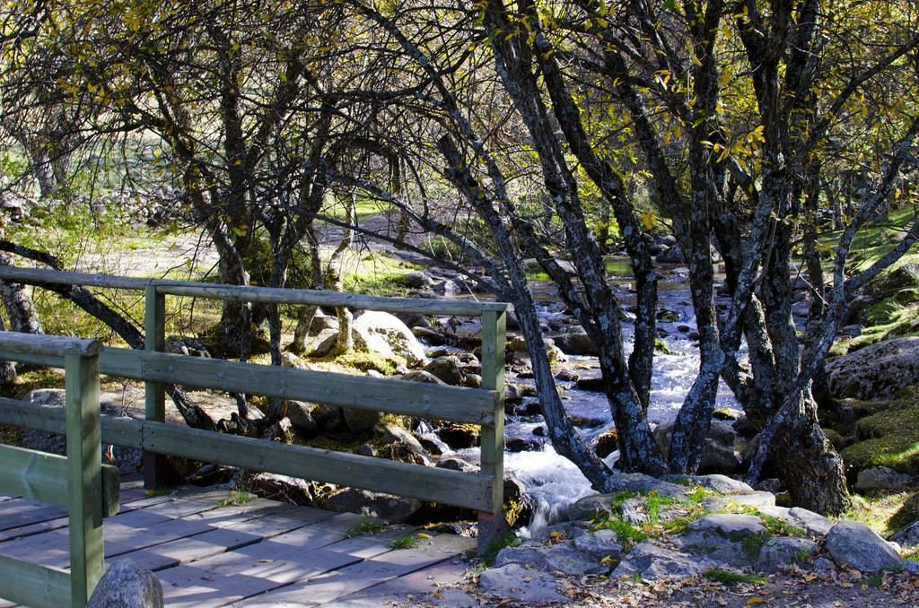 sierra madrileña: la cascada del purgatorio