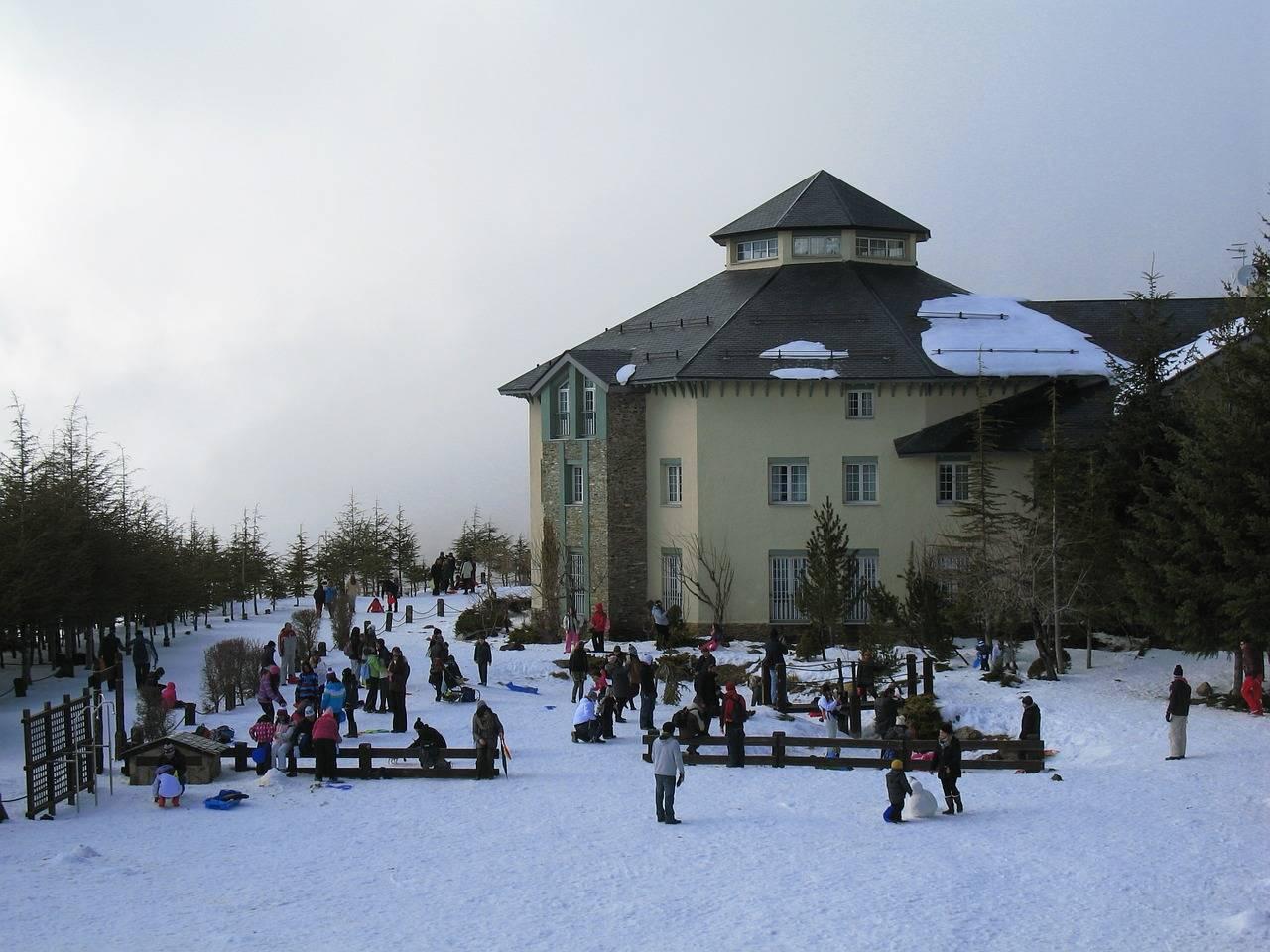 estaciones invernales de españa: sierra nevada