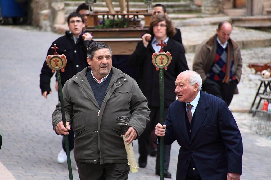 Segovia en Semana Santa: traslados