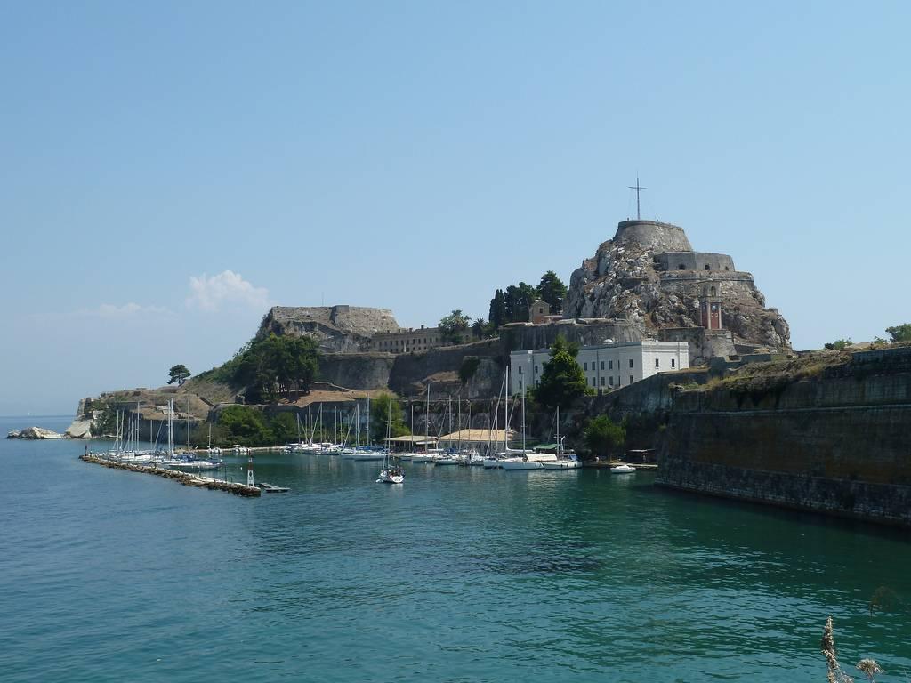 ciudades donde vivió Sissi: Corfu