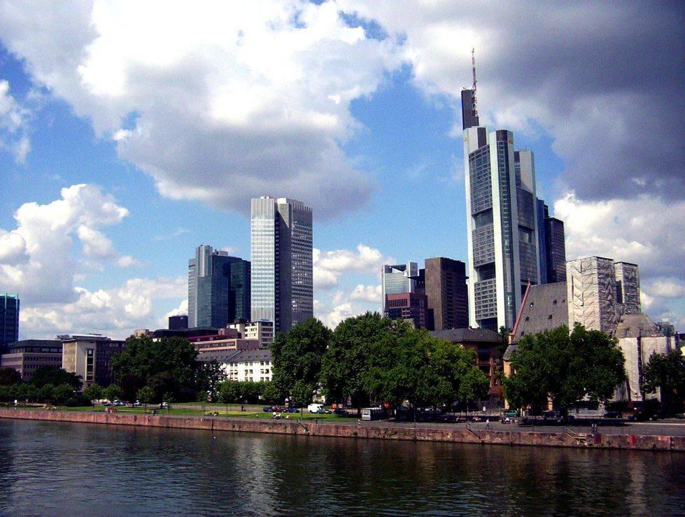 torres panorámicas de Europa: Frankfurt