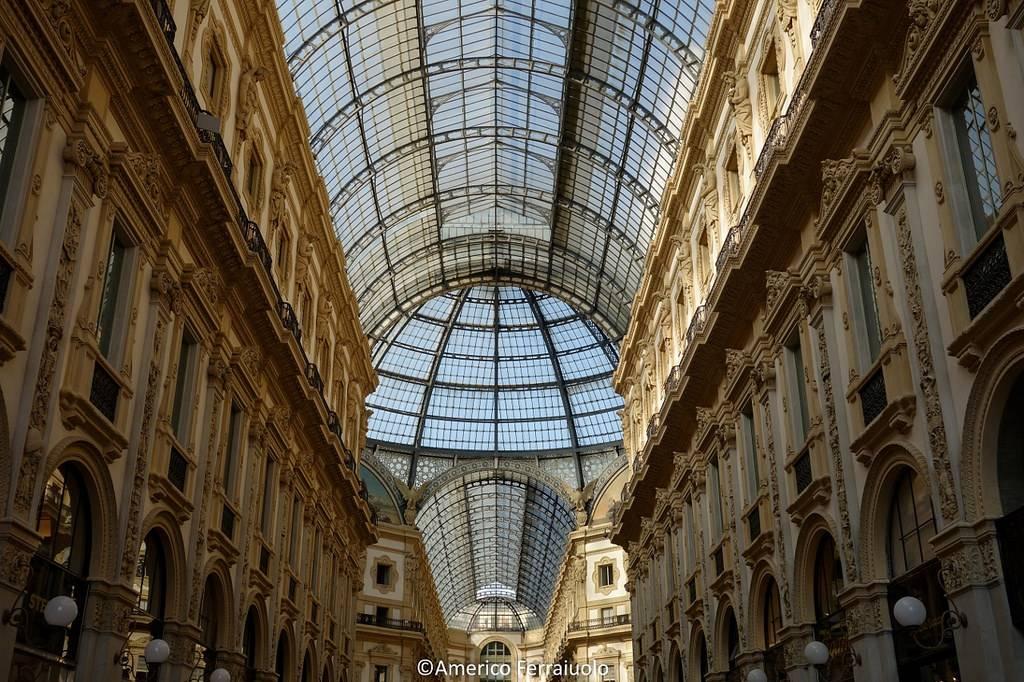 lugares de interés en Milán: galería vittorio
