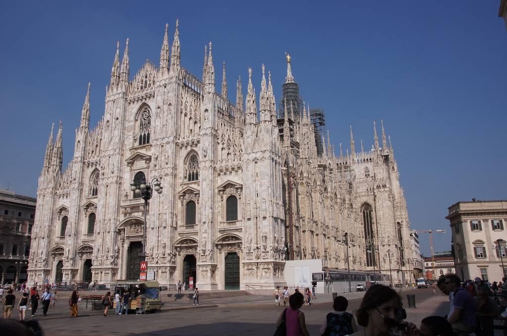 lugares de interés en Milán: il duomo