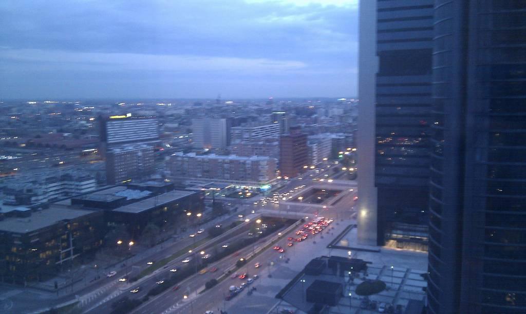 torres panorámicas de Europa: Madrid